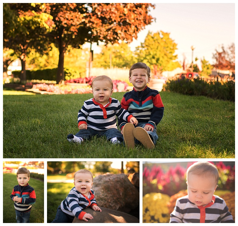 Oak Lawn Children Photography Brothers Are Excited For